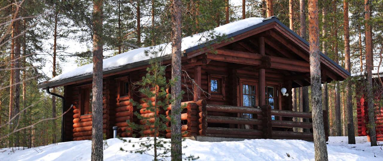 Chalet finlandais à Hossa