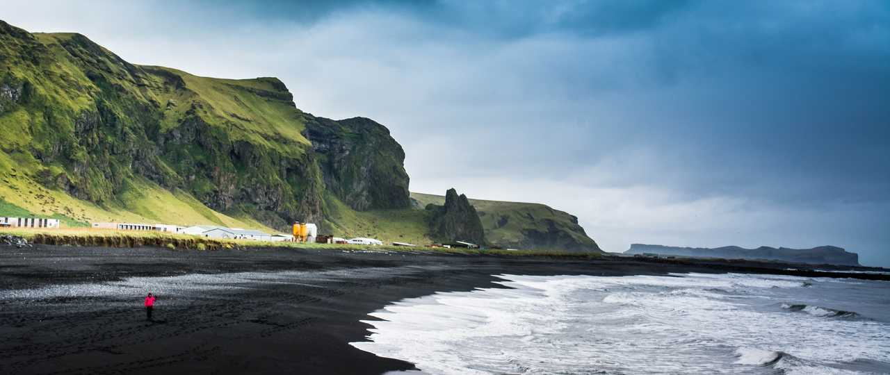 Photo d'une plage le long de la côte Sud