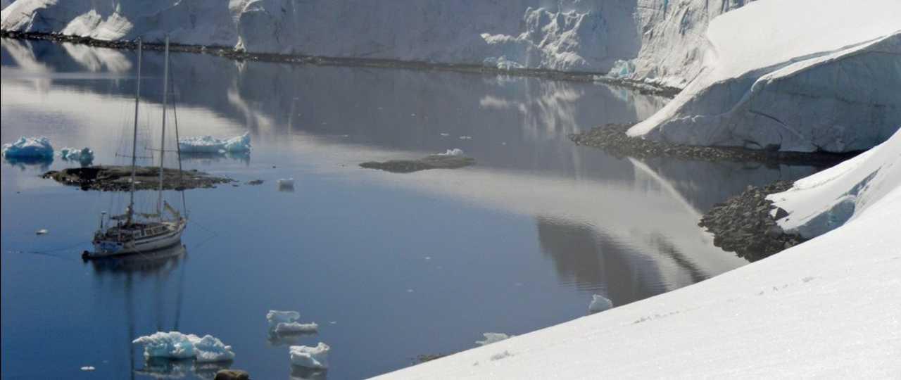 Photo d'une croisière polaire en antarctique