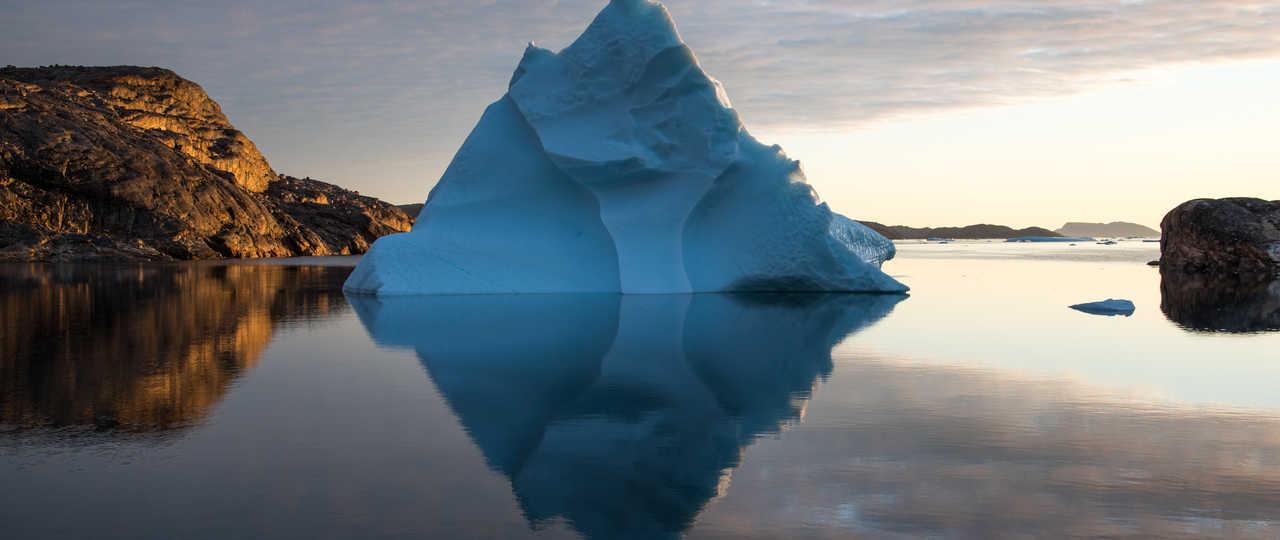 Photo iceberg lors croisière polaire La Louise