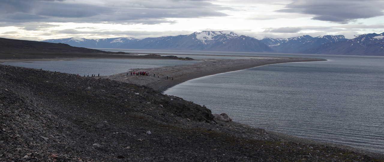 Photo débarquement croisière polaire