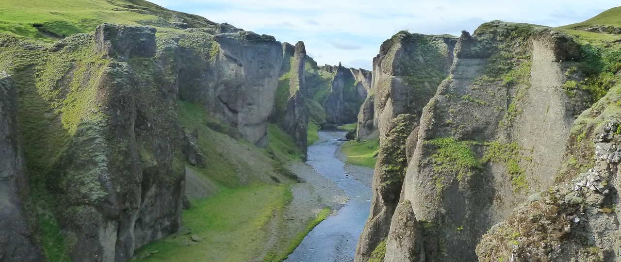 Fjadrargljufur Canyon d'Islande