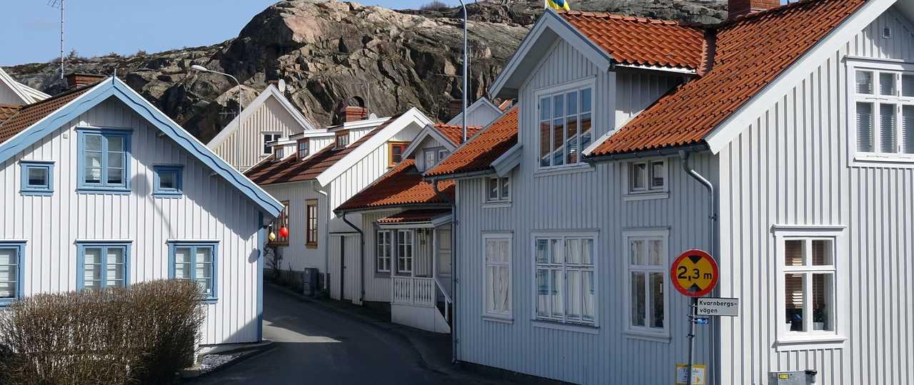 Fjällbacka en Suède