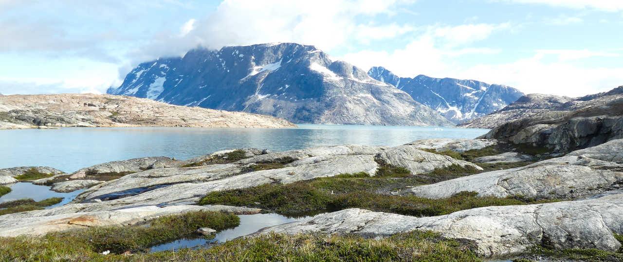 Fjord de l'Est au Groenland