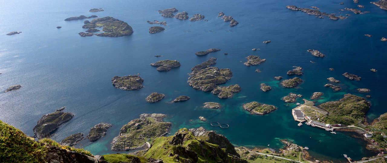 Fjords Norvège Lofoten