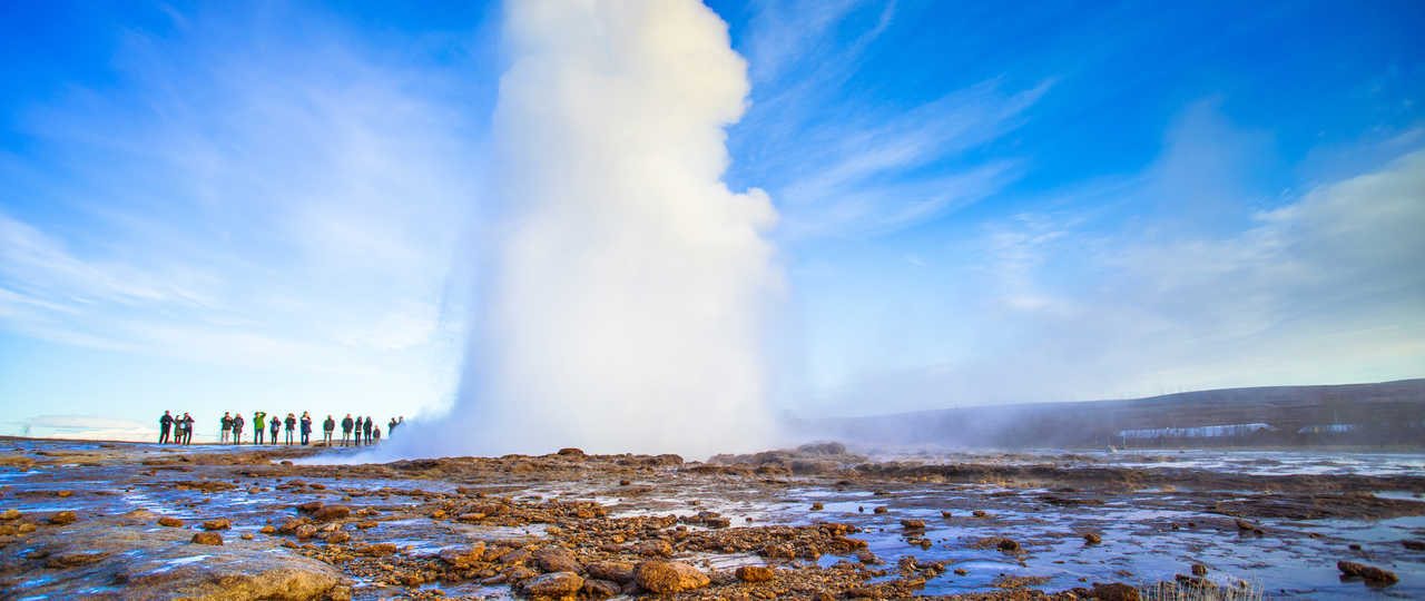 Photo du geyser Strokkur