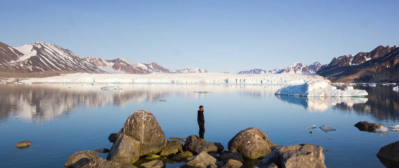 Glacier de Monaco en Arctique, Svalbard