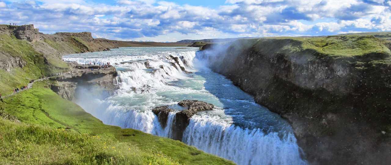 Gullfoss cascade Islande