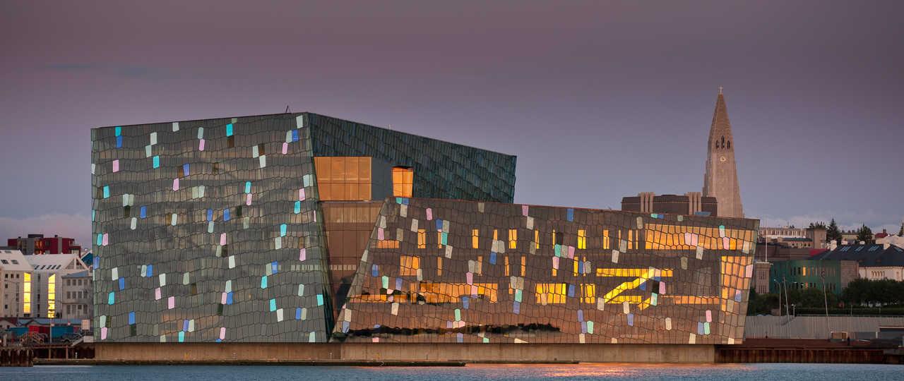 Harpa, salle de concert en Islande
