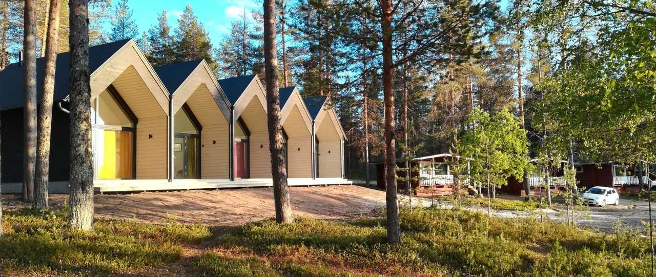 Hôtel de Finlande à Hossa