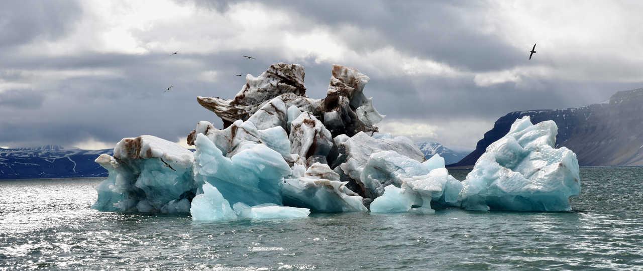 Iceberg au Svalbard