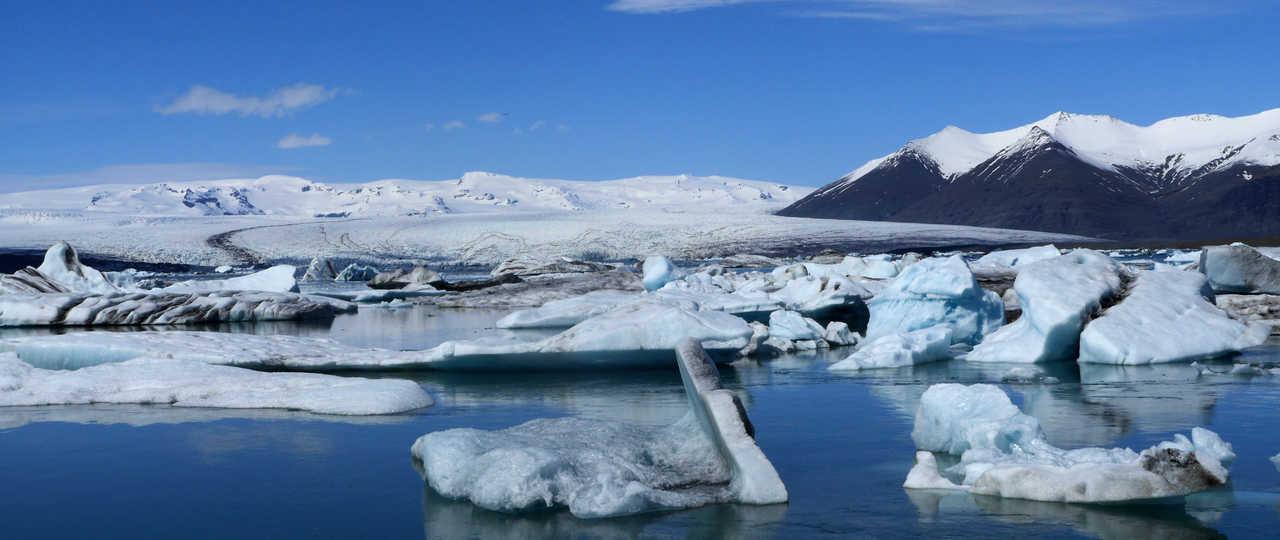 Jokulsarlon en Islande