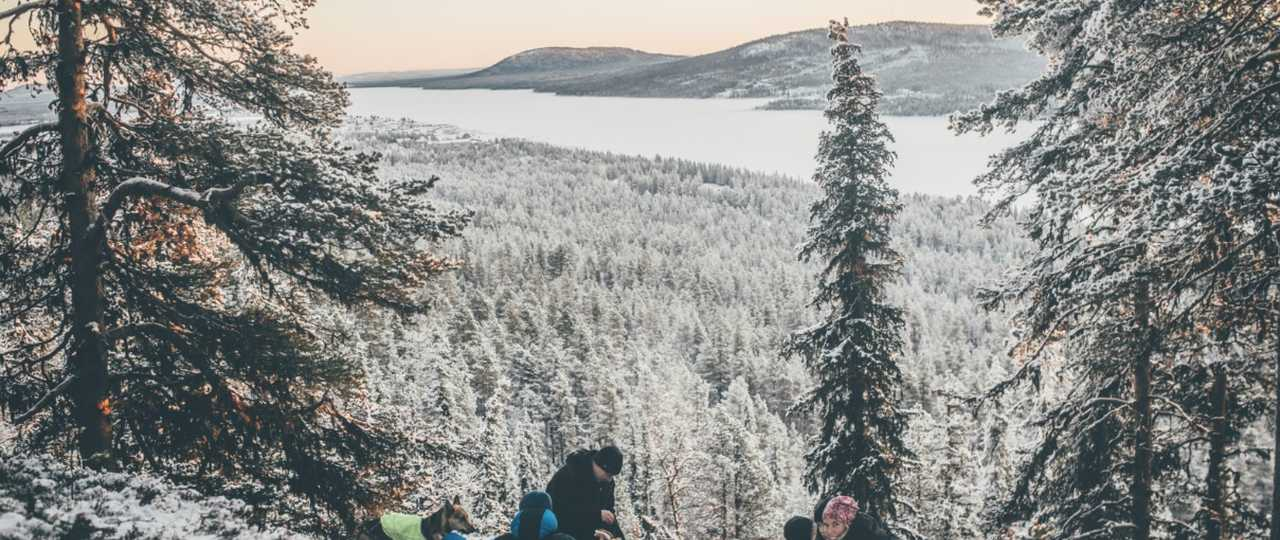 Journée de randonnée en Laponie Suédoise