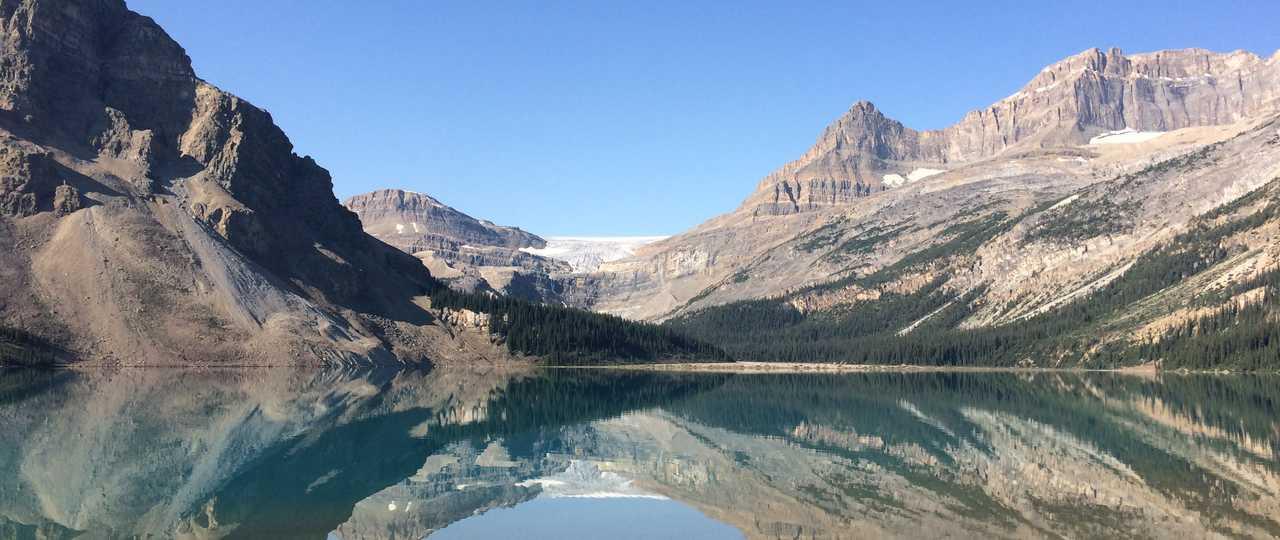 Lac Bow, Parc national de Banff au Canada