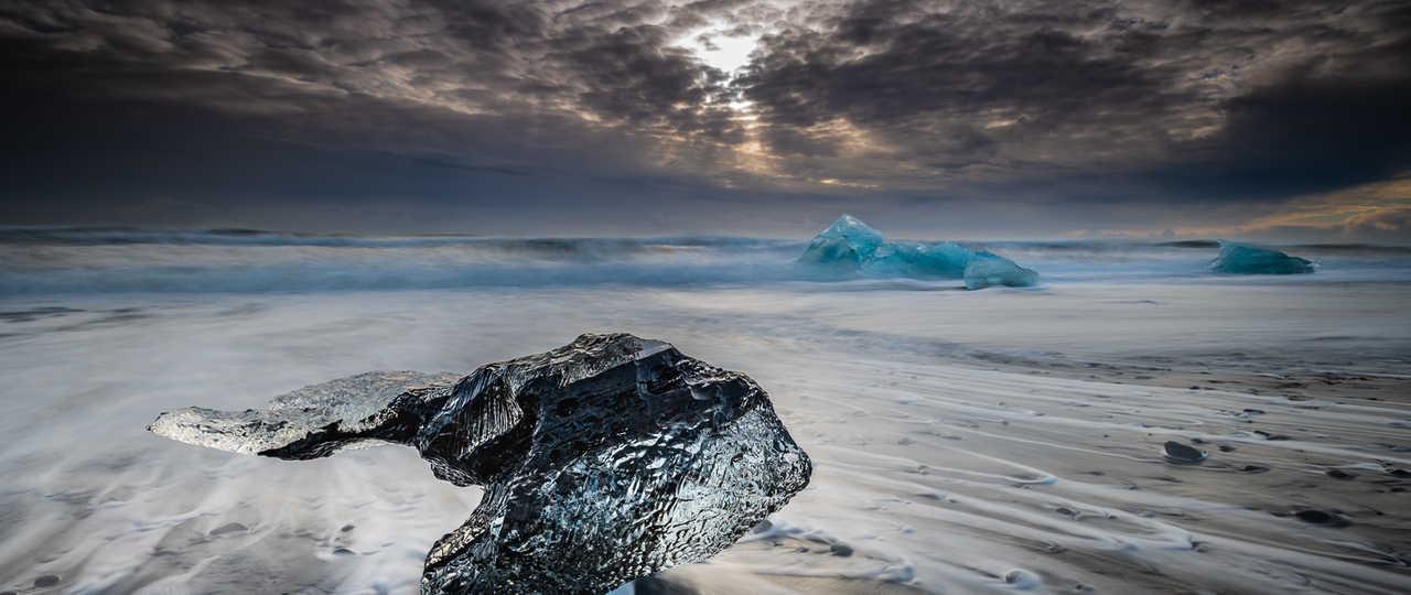 Lagon glacé de Jokulsarlon, Islande