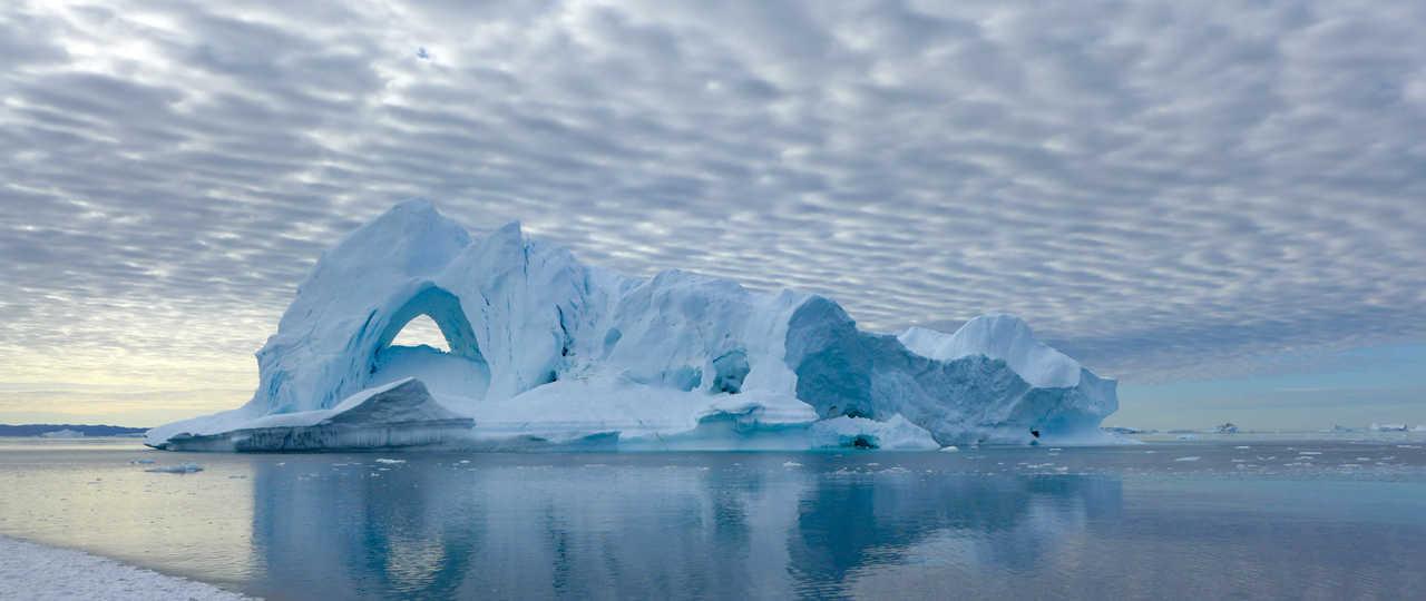 Mastodonte de glace en Arctique, Groenland