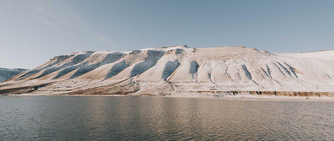 Montagnes du Spitzberg, Svalbard