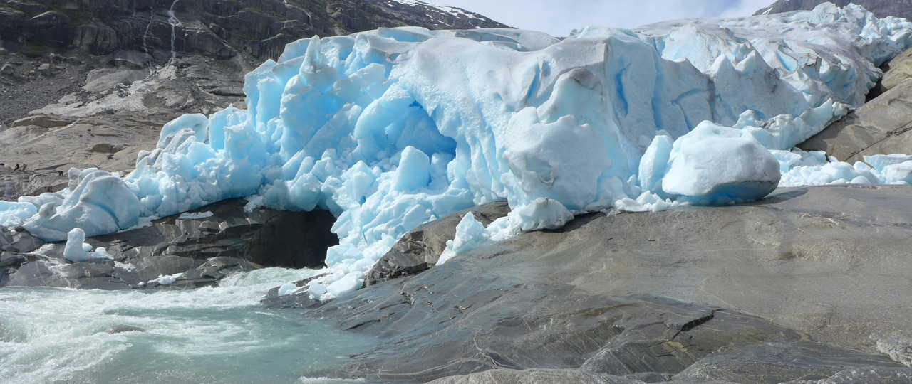 Nigardsbreen, glacier en Norvège