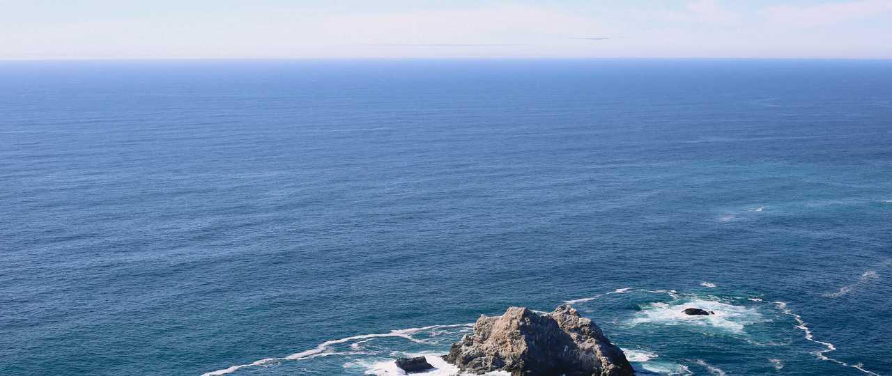 Océan Atlantique depuis le Québec