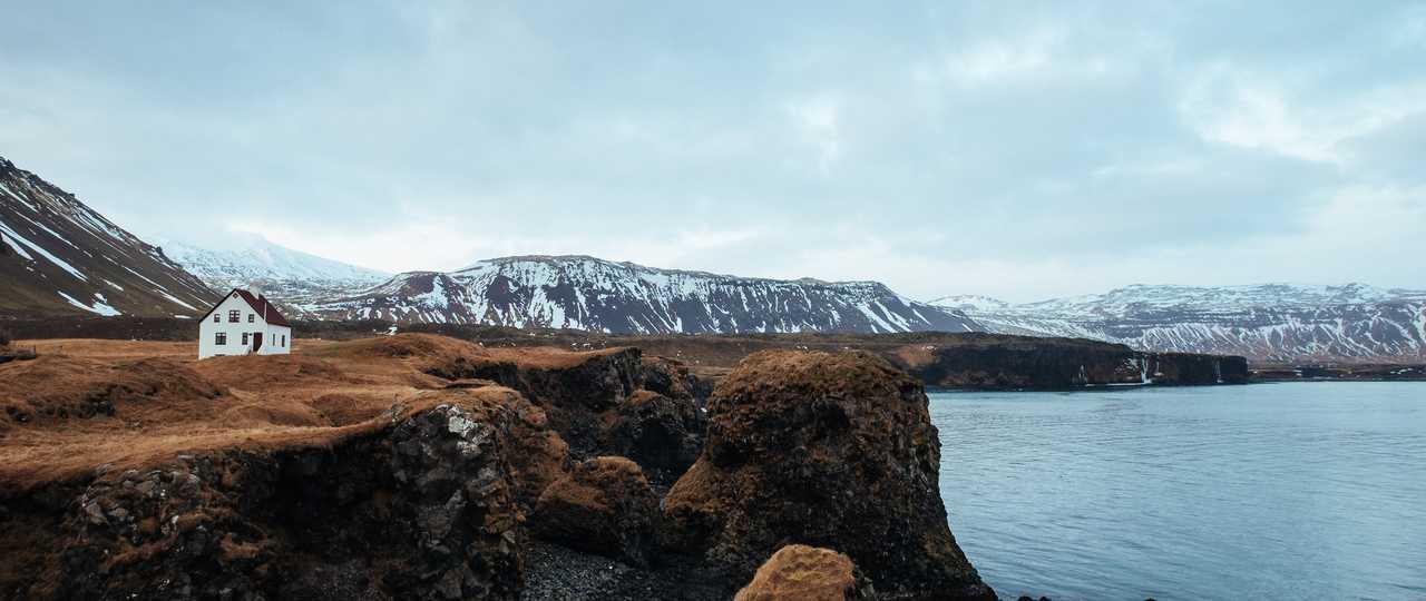 Paysage d'Islande