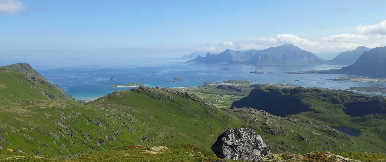 Paysage Norvège iles Lofoten