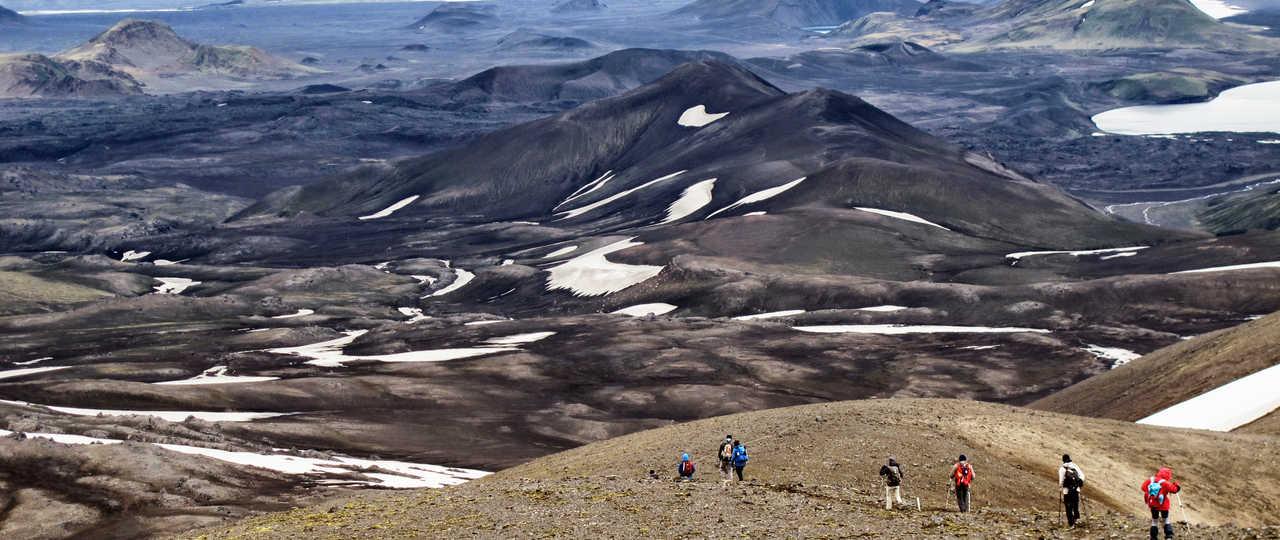 Photo d'une randonnée en Islande