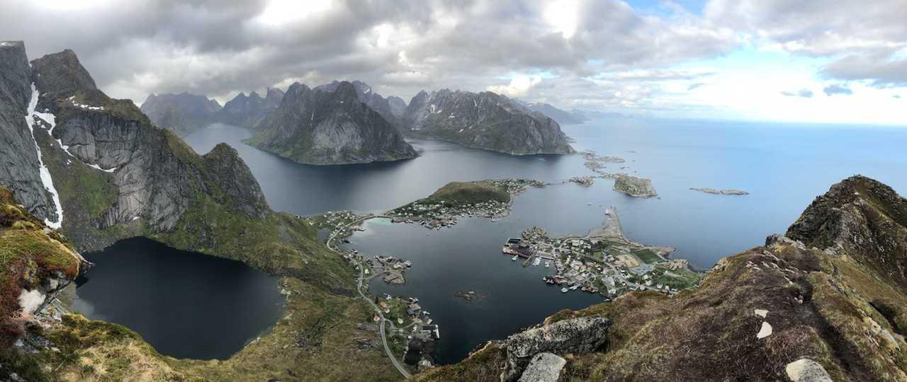 Reinebringen Lofoten Norvège