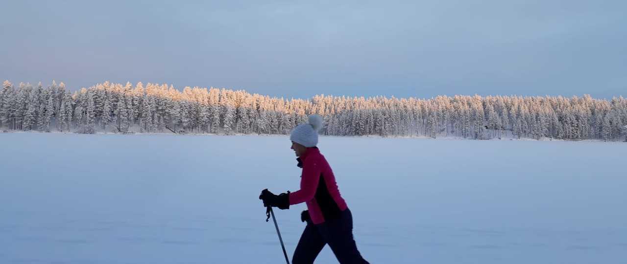Ski de fond en Finlande
