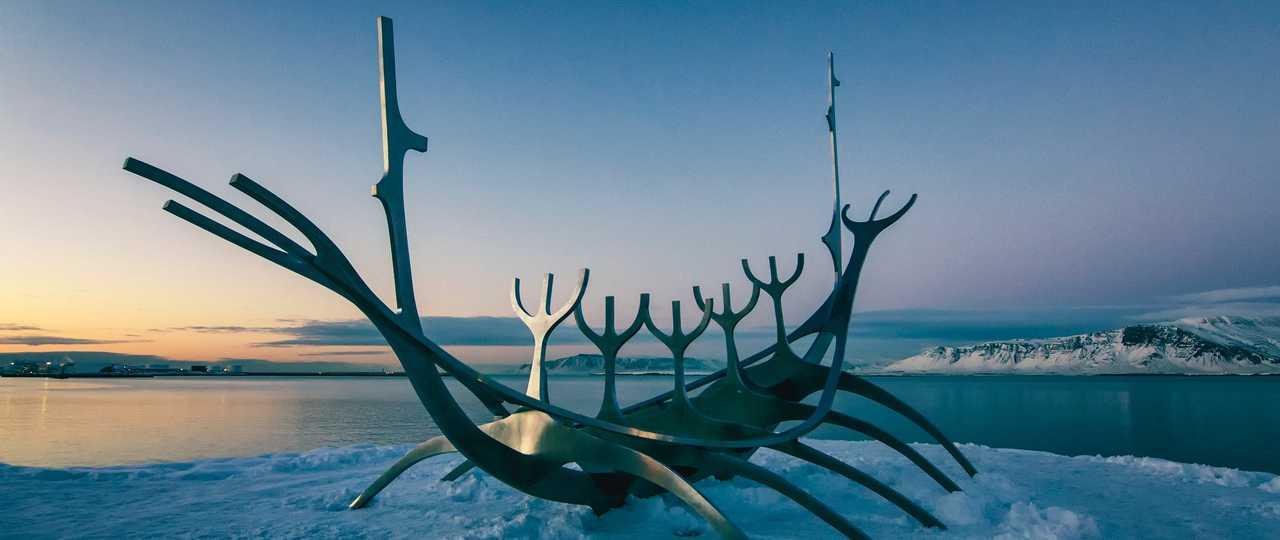 Solfar, bateau viking de Reykjavik