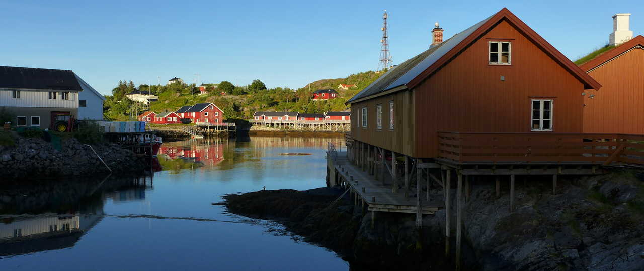 Sorvagen, îles Lofoten, Norvège du Nord