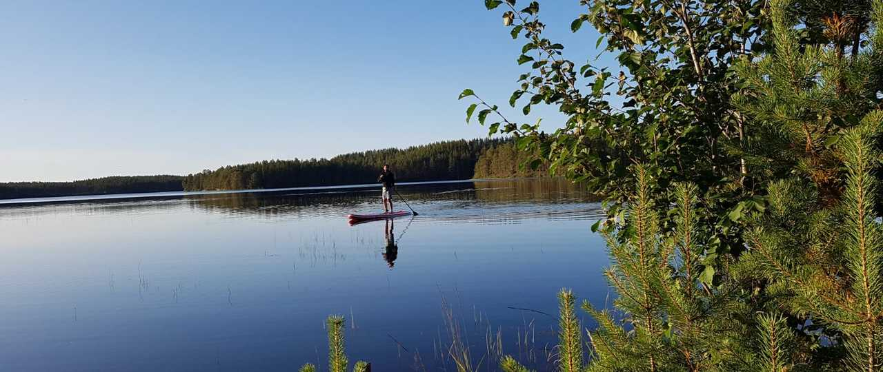 Stand Up Paddle en Finlande