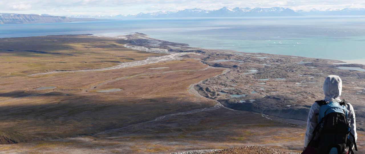 Svalbard paysages, Arctique
