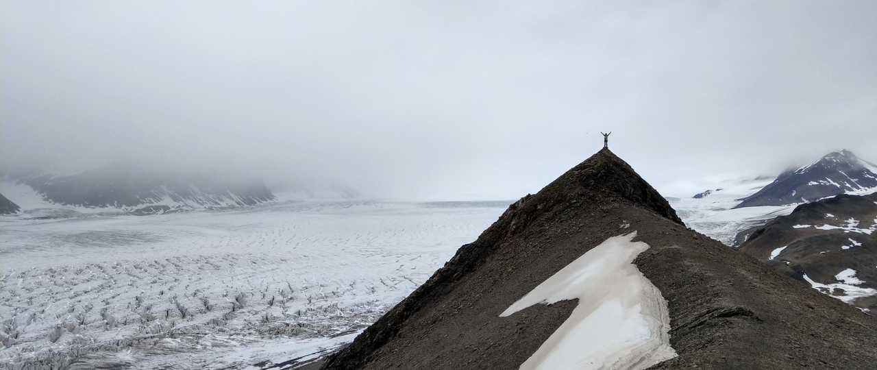 Svalbard voyage randonnée glacier