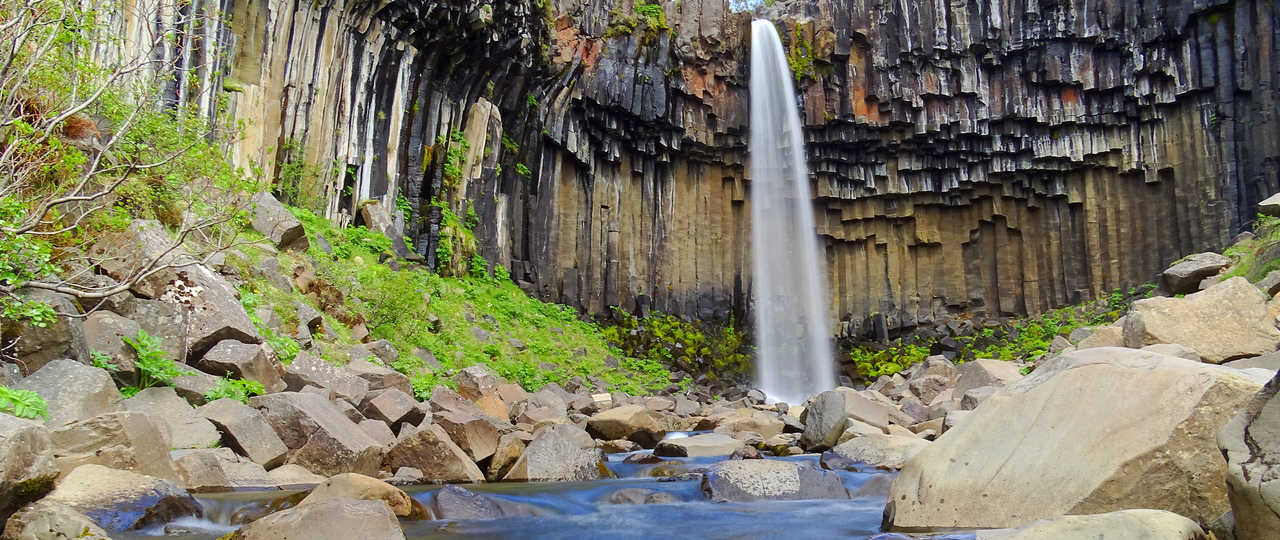 Belle cascade d'Islande