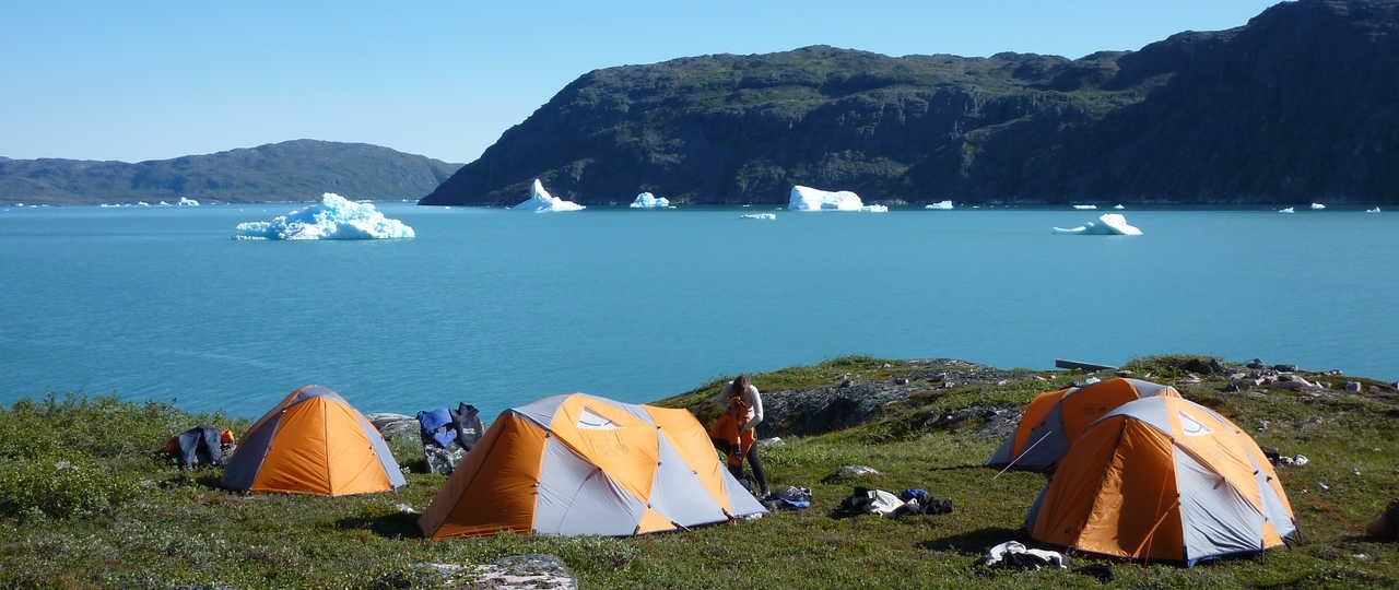 Tentes au Groenland