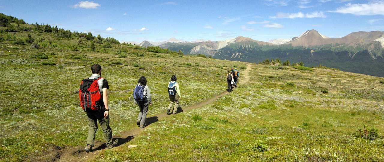 Trek et randonnée au Canada
