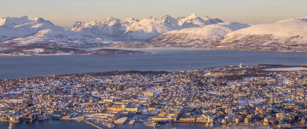 Tromso sous la neige