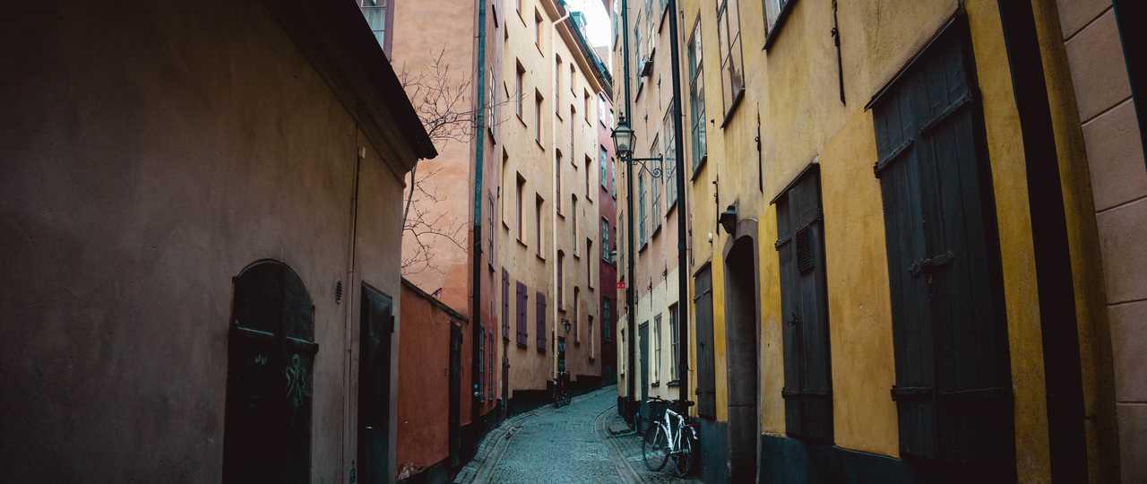 Vieilles rue de Copenhague