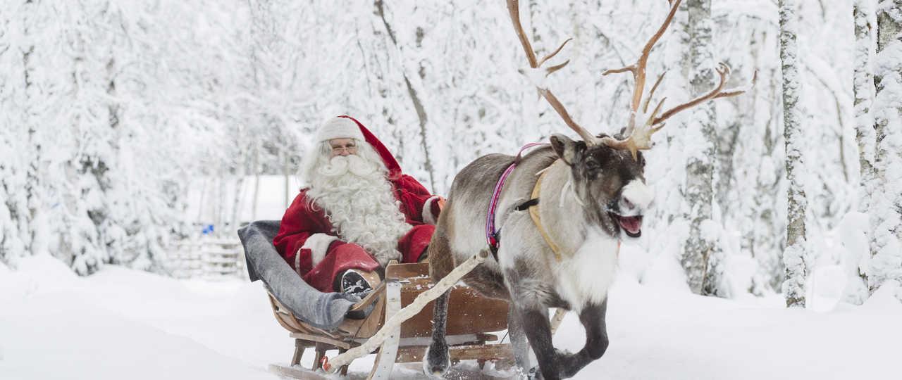 Village du père Noël en Laponie