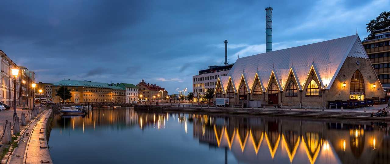 Ville de Goteborg, Suède