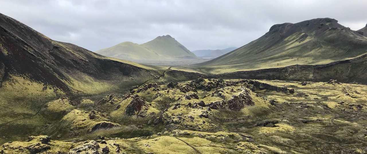 Volcans en Islande