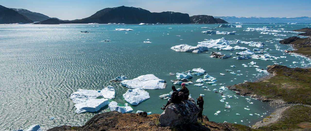 Voyage au Groenland l'été