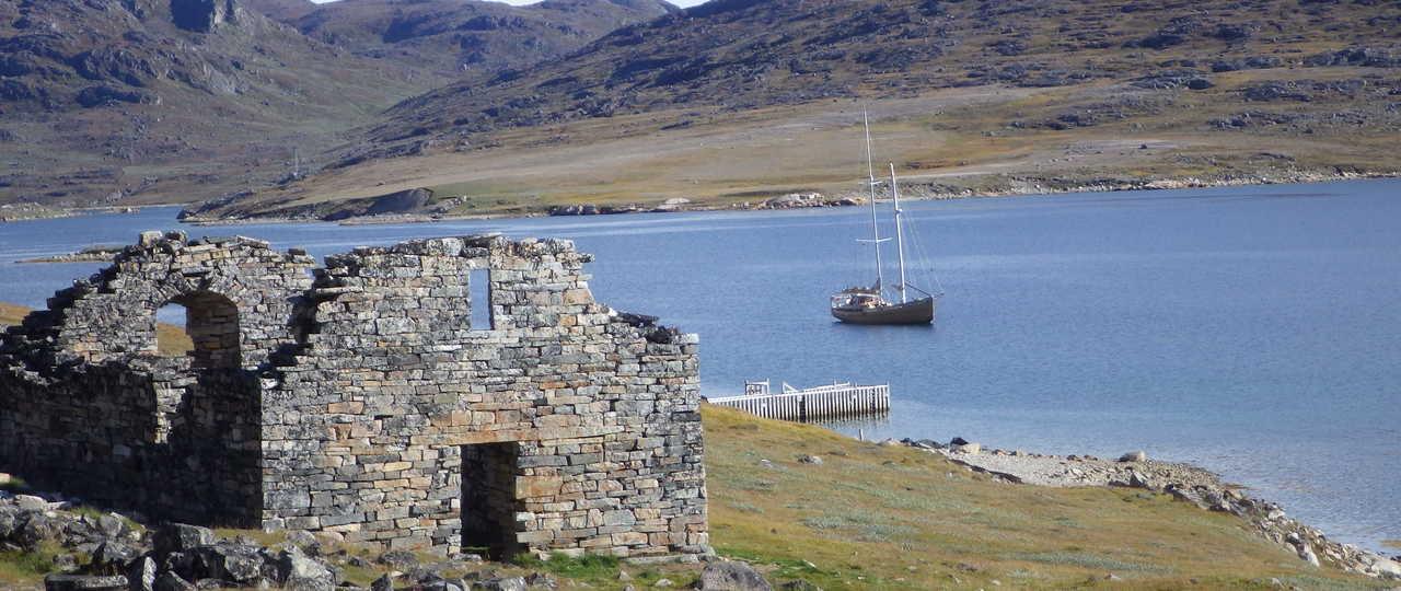 Photo du voilier la Louise au Groenland