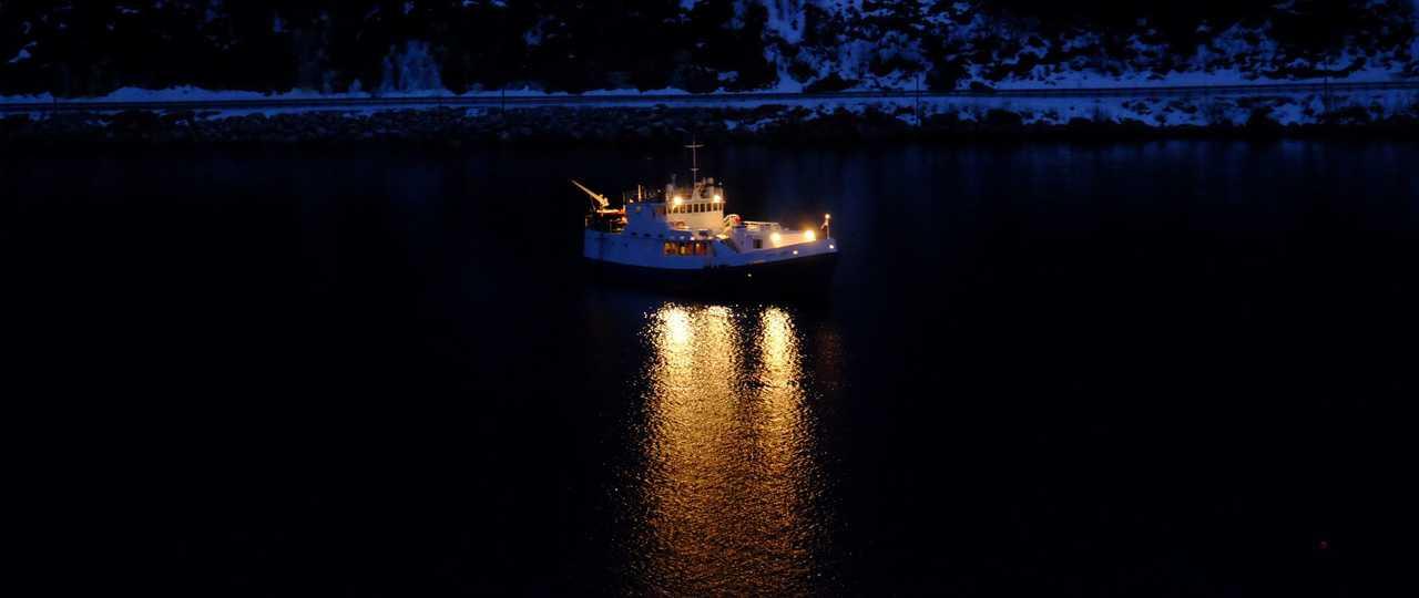 bateau Polaris lors d'une croisière en Norvège