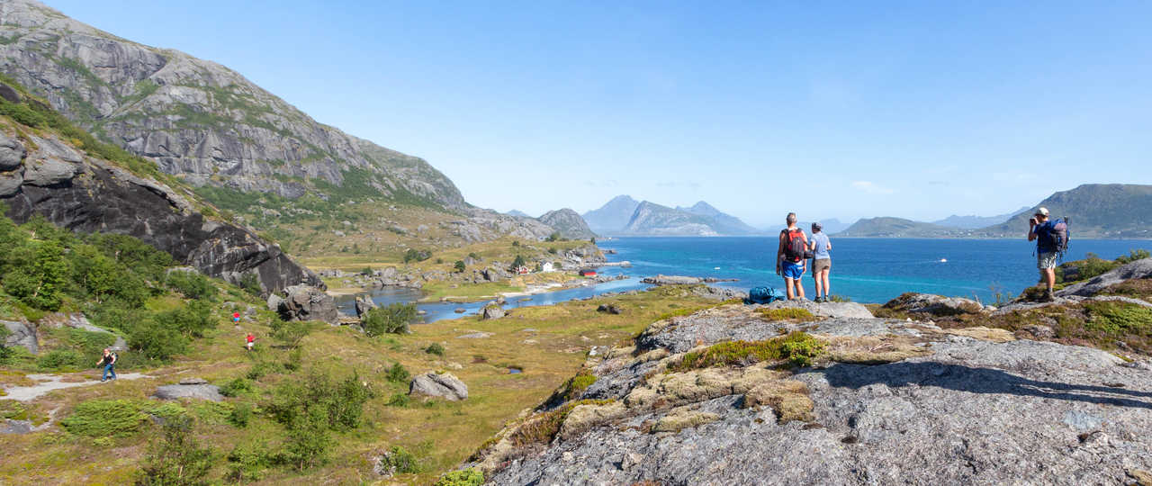 Voyage en été en Norvège, traversée Kilan Napp