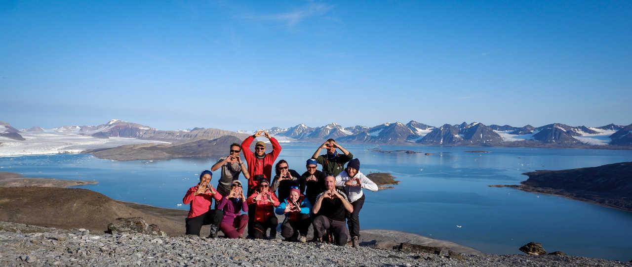 Voyage en groupe en Arctique, Spitzberg, Svalbard
