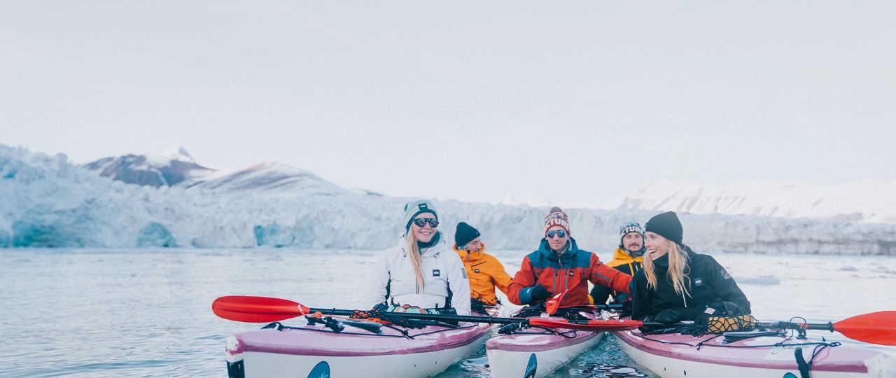 Voyage en groupe en arctique, Svalbard