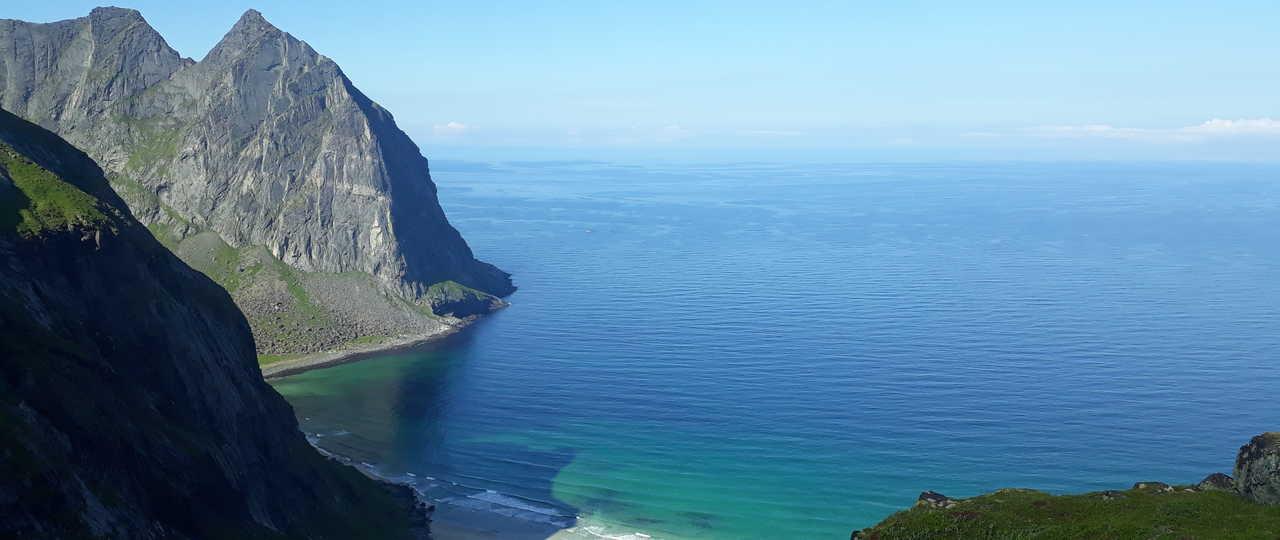 Voyage en Norvège l'été