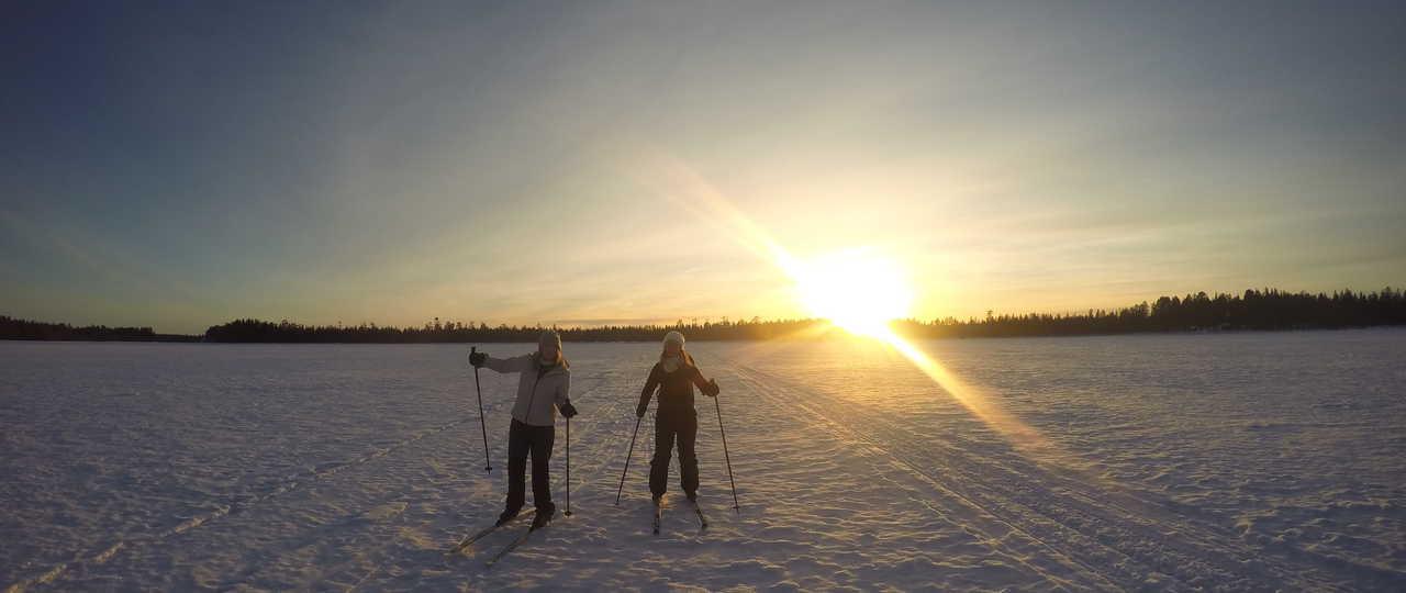Voyage en Ski de fond en Finlande