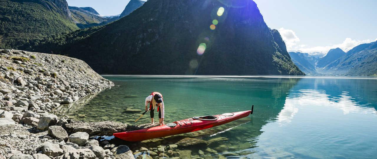 Voyage Kayak de mer Lofoten